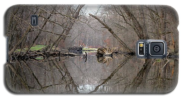 Galaxy S5 Case featuring the photograph Eldon's Reflection by Bruce Patrick Smith