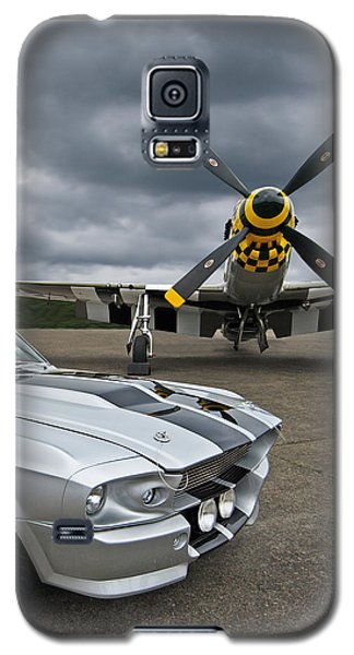 Eleanor Mustang With P51 Galaxy S5 Case
