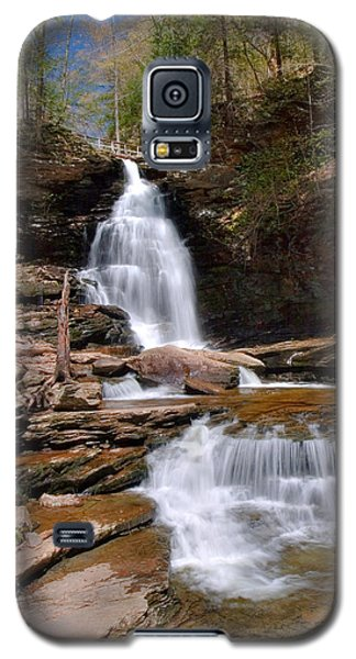 Electric Blue Skies Over Ozone Falls Galaxy S5 Case