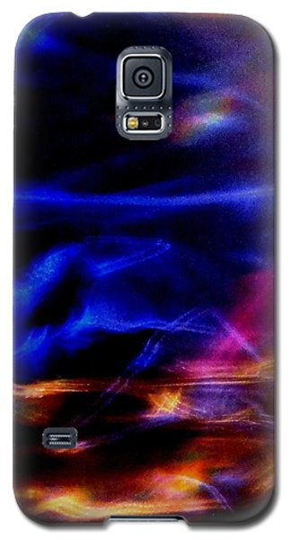Galaxy S5 Case featuring the photograph Electric Chaos by Mike Breau