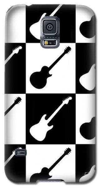 Electric Guitar Checkerboard Galaxy S5 Case