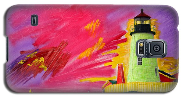 Electric Lighthouse Galaxy S5 Case
