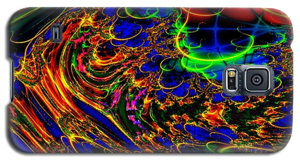 Galaxy S5 Case featuring the digital art Electric Sea by Steed Edwards