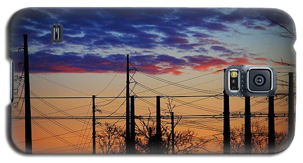 Electric Sunset Two Galaxy S5 Case