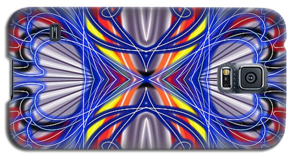 Galaxy S5 Case featuring the digital art Electric Wave by Brian Johnson