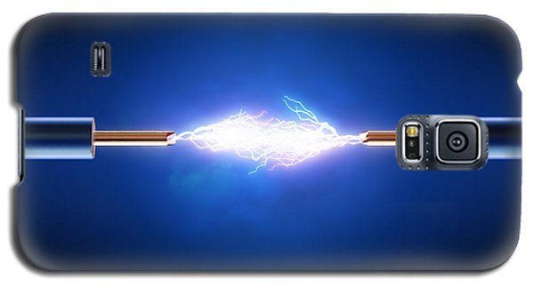Electric Current / Energy / Transfer Galaxy S5 Case