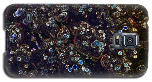 Electrified Neon Bubbles Galaxy S5 Case by Joseph Baril
