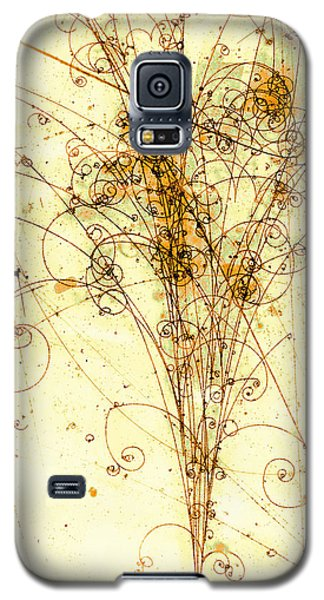 Electron Positron Particle Shower Galaxy S5 Case