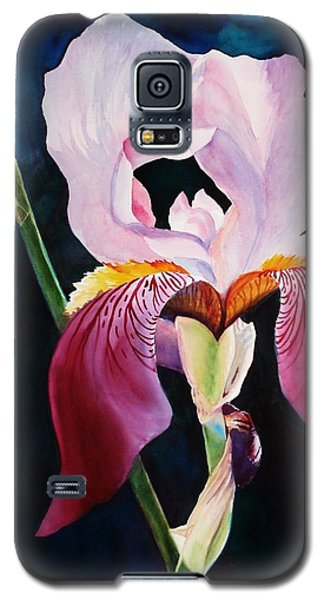 Galaxy S5 Case featuring the painting Elegance by Marilyn Jacobson