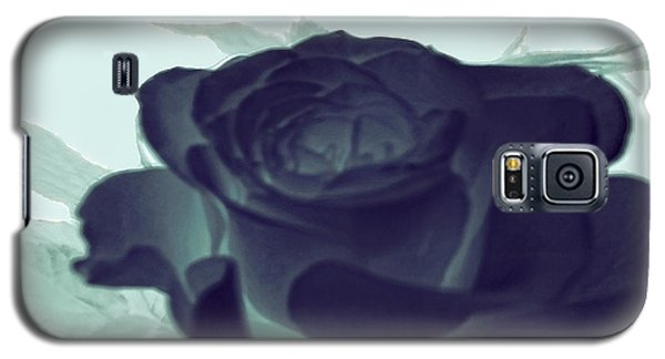 Elegant Black Rose Galaxy S5 Case