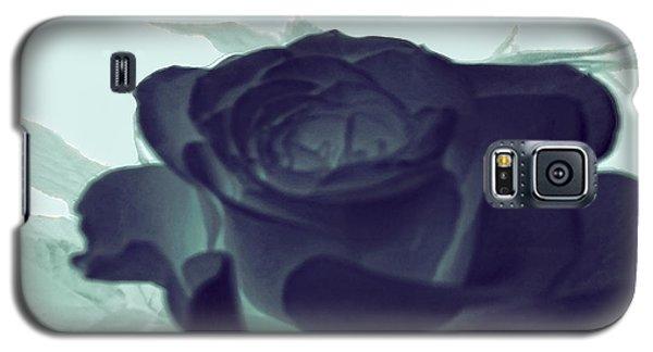 Elegant Black Rose Galaxy S5 Case by Debra     Vatalaro