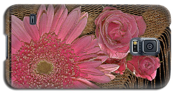Elegant Gold Lace Galaxy S5 Case by Phyllis Denton
