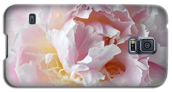 Elegant Pink Peony Galaxy S5 Case