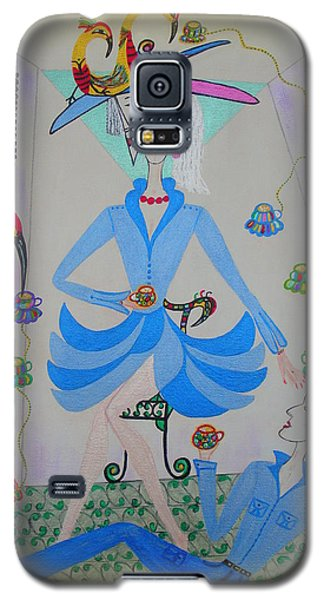 Eleonore Tea Party Galaxy S5 Case by Marie Schwarzer