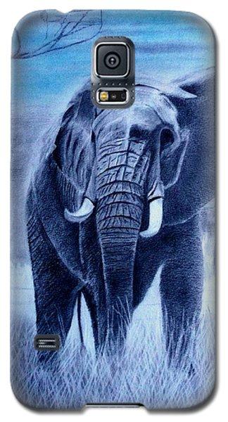 Elephant And Blue Sky Galaxy S5 Case