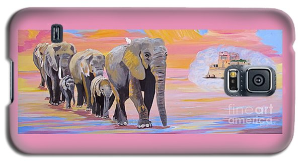 Elephant Fantasy Must Open Galaxy S5 Case
