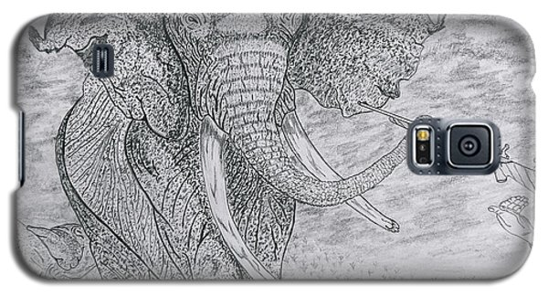 Elephant Gun Galaxy S5 Case
