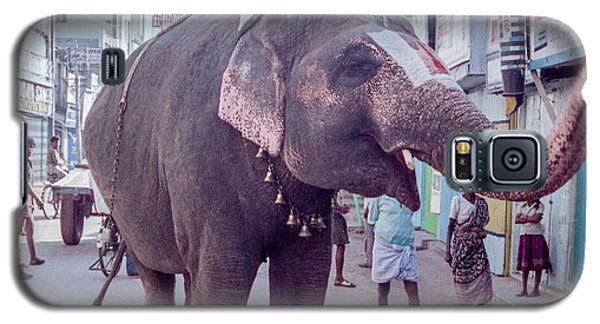 Elephant In The Street In India Galaxy S5 Case