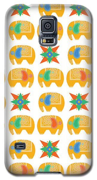 Elephant Print Galaxy S5 Case