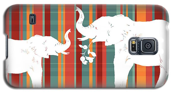 Elephants Share Galaxy S5 Case