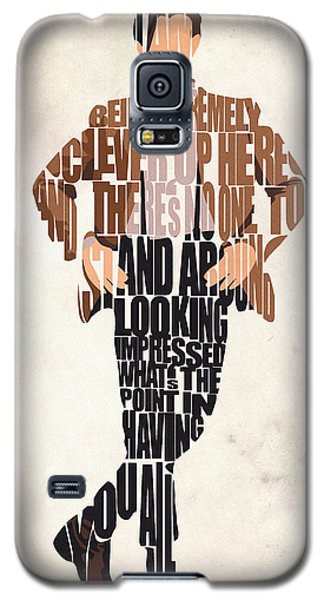 Eleventh Doctor - Doctor Who Galaxy S5 Case by Ayse Deniz