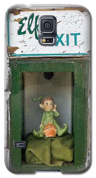 elf exit, Dubuque, Iowa Galaxy S5 Case