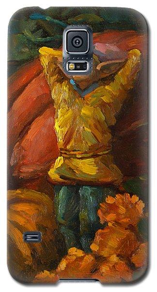 Elf In The Pumpkin Patch Galaxy S5 Case