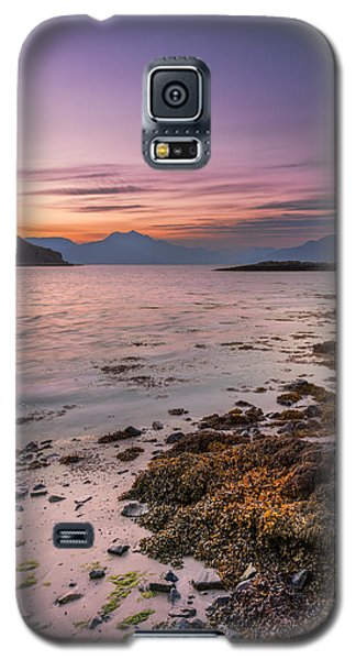 Landscape Wall Art Sunset Isle Of Skye Galaxy S5 Case