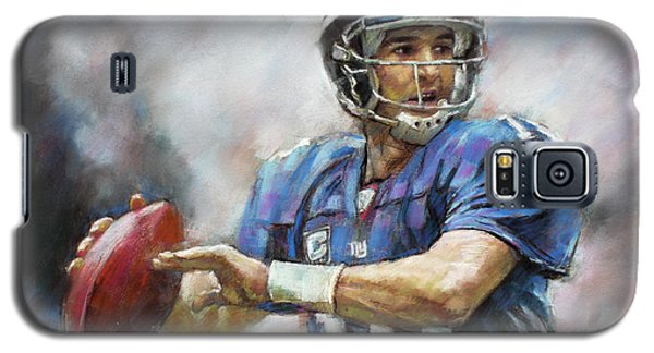 Eli Manning Nfl Ny Giants  Galaxy S5 Case
