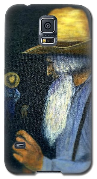 Galaxy S5 Case featuring the painting Eli Remembers by Gail Kirtz