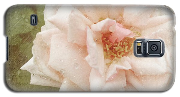 Elie Beauvillain Rose Textured Art Galaxy S5 Case
