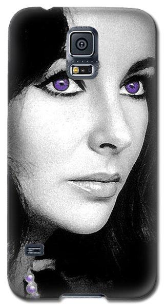 Elizabeth Taylor Galaxy S5 Case by George Pedro