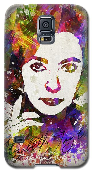 Elizabeth Taylor In Color Galaxy S5 Case by Aged Pixel
