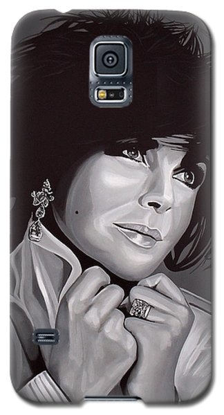 Elizabeth Taylor Galaxy S5 Case by Paul Meijering