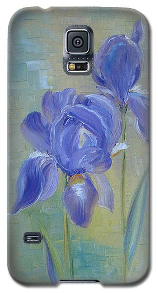 Elizabeth's Irises Galaxy S5 Case by Judith Rhue