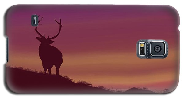 Elk At Dusk Galaxy S5 Case by Terry Frederick