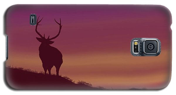 Elk At Dusk Galaxy S5 Case