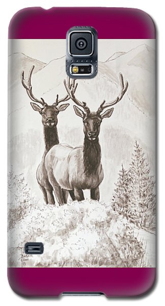 Elk Encounter Galaxy S5 Case