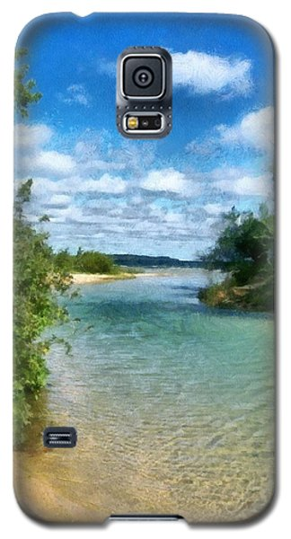 Elk River- Elk Rapids Michigan Galaxy S5 Case