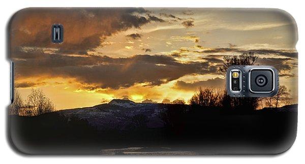 Elk River N Pilots Nob Sunset Ver 2 Galaxy S5 Case