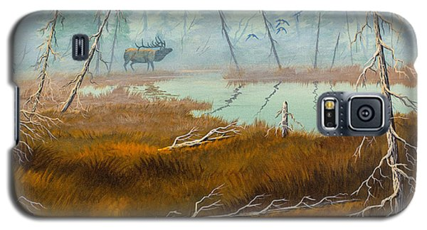Elk Swamp Galaxy S5 Case by Richard Faulkner