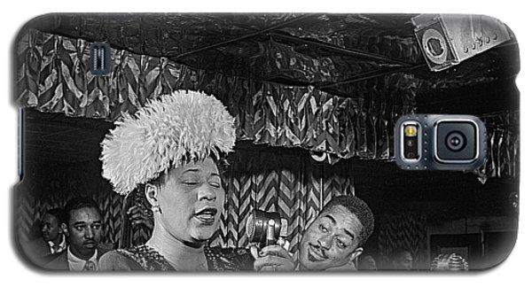 Ella Fitzgerald And Dizzy Gillespie William Gottleib Photo Unknown Location September 1947-2014. Galaxy S5 Case