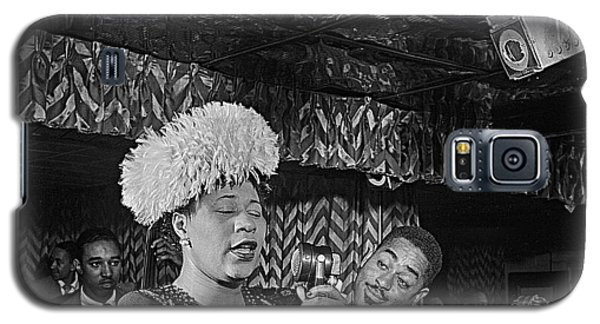 Ella Fitzgerald And Dizzy Gillespie William Gottleib Photo Unknown Location September 1947-2014. Galaxy S5 Case