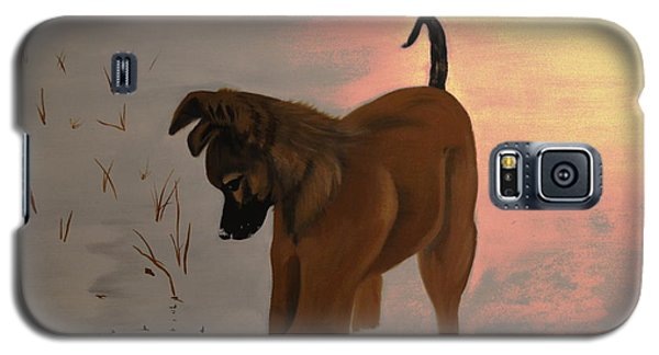 Galaxy S5 Case featuring the painting Ellee by Stuart Engel
