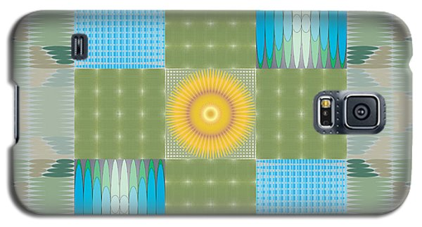 Ellipse Quilt 1 Galaxy S5 Case by Kevin McLaughlin
