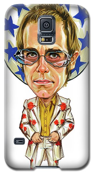 Elton John Galaxy S5 Case by Art