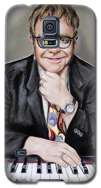 Elton John Galaxy S5 Case by Melanie D