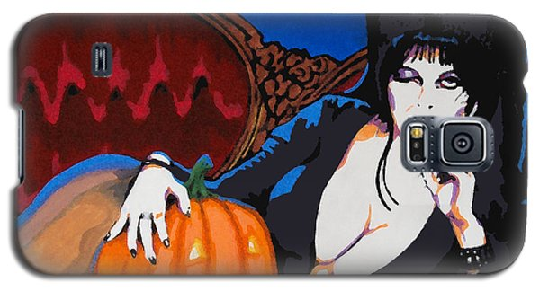 Elvira Dark Mistress Galaxy S5 Case