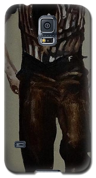 Galaxy S5 Case featuring the painting Elvis 1953 by Eric Dee
