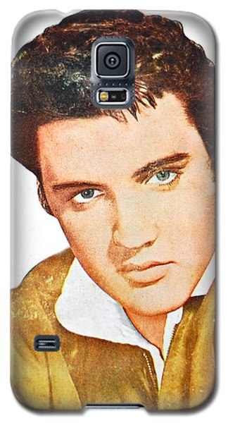 Elvis Colored Portrait Galaxy S5 Case by Gina Dsgn